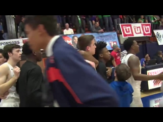 Evanston Township beats Maine South on epic buzzer beater - 1-26-2018.mp4