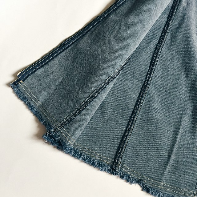 Джинсовая юбочка