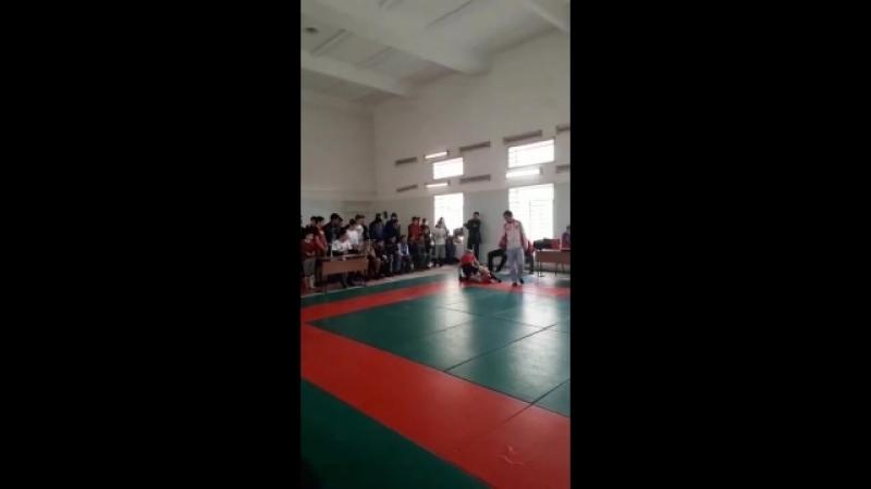 1 бой Шахбанов Раид