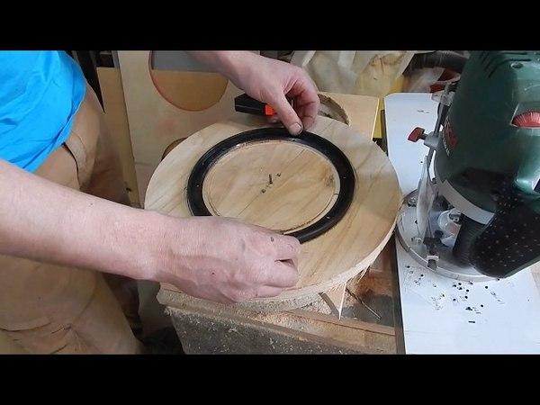 Учимся пилить проставочные кольца