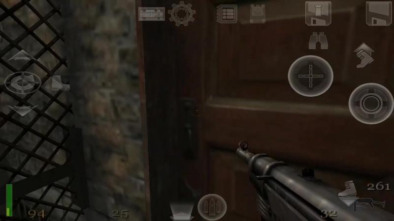 Return to Castle Wolfenstein (На Андроиде) - 6 минут геймплея.