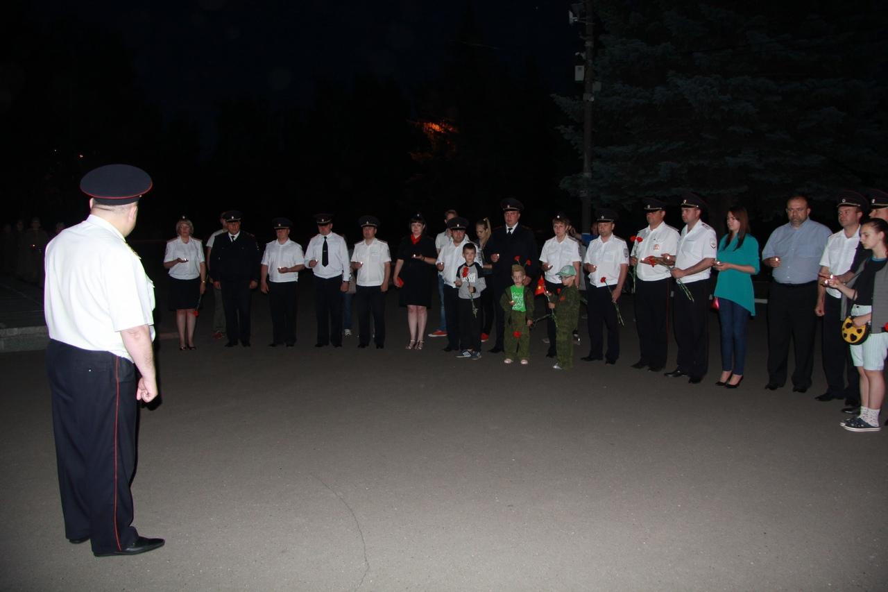 Сотрудники полиции УМВД России по Коломенскому городскому округу и члены Общественного совета при УМВД присоединились к Общероссийской  акции «Завтра была война»