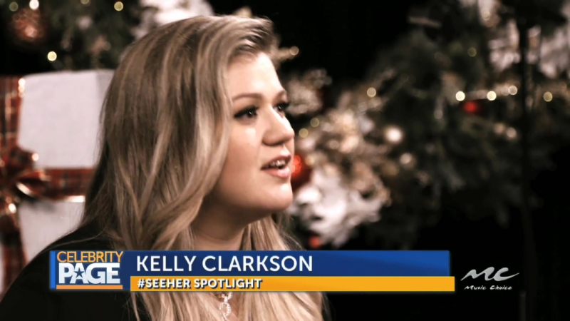 SeeHER spotlight with Kelly Clarkson