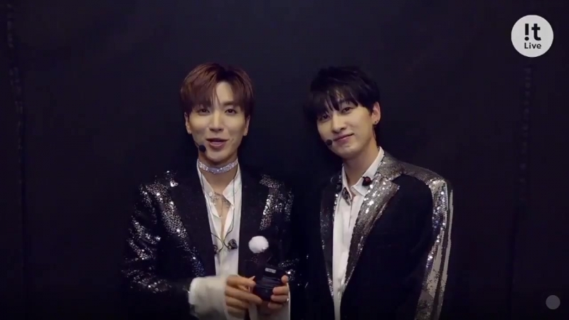 [CUT] 180421 Leeteuk Eunhyuk !t Live Special The 2nd MUGI-BOX