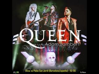 Queen + Adam Lambert at Palau Sant Jordi, Barselona 10/06/2018