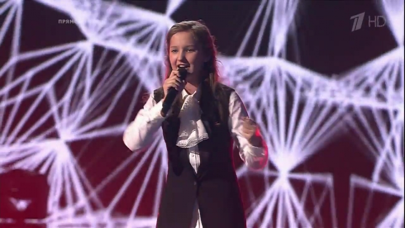 Анна Мошкорина - Останусь (ГолосДети - 3 сезон - 2016)