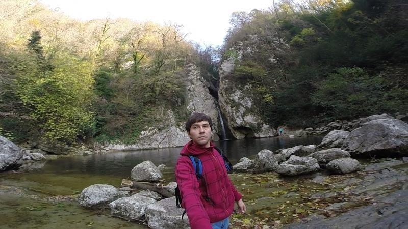 Вид на 2-ой водопад