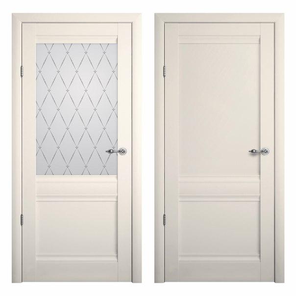 Межкомнатная дверь РИМ (Ваниль)