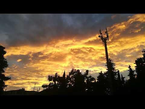 Медно-платиновый закат 09.08.18