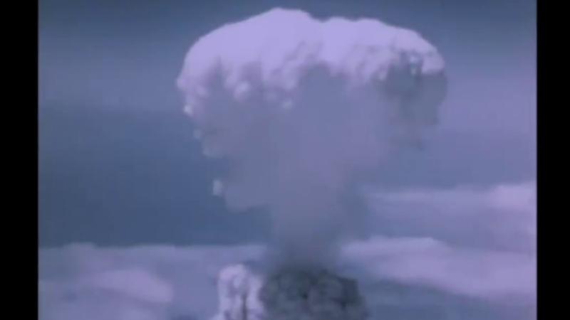 Аэровидеосъёмка бомбардировки Нагасаки