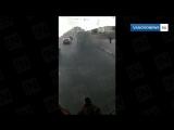Чадащий автобус в Иванове