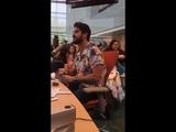 Darren Criss via _jaifitzgerald LiveStream