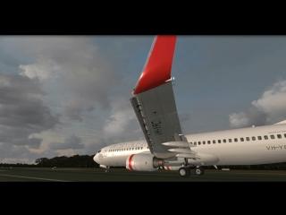AUSTRALIA YHBA - YBBN Boeing 737-800 FSX