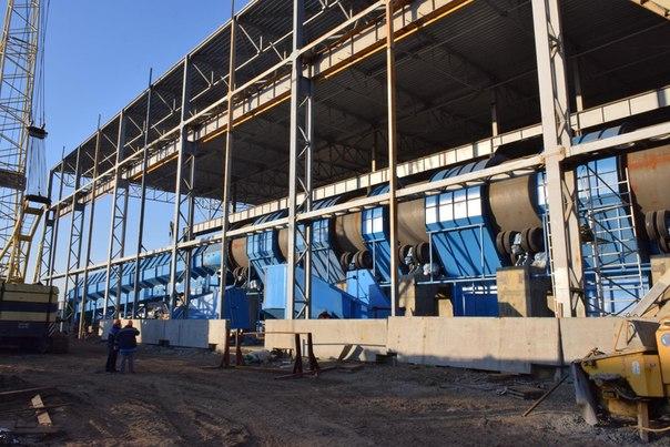 Монтаж оборудования нового древесно-подготовительного цеха планируют завершить до конца года