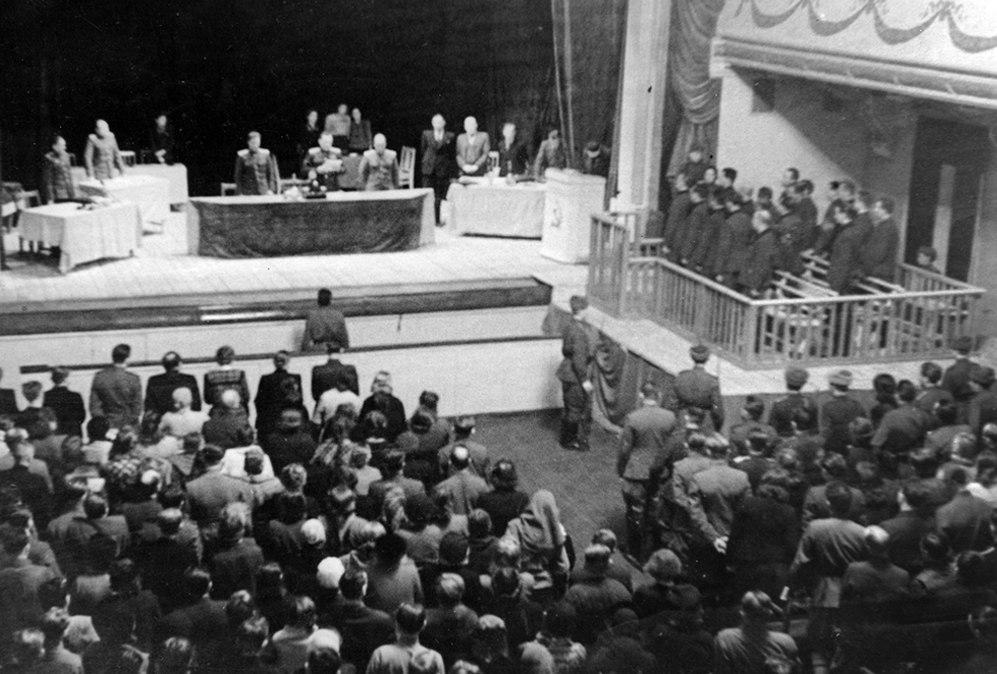 В Новгороде состоится первая в РФ реконструкция открытого трибунала над нацистскими преступниками