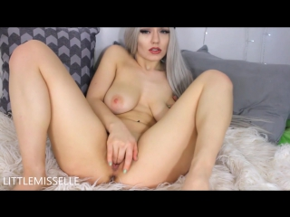 LittleMissElle - Slutty Step Sister (Webcam, Masturbation, Dildo, Pussy)