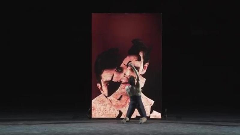 2018 Roberto Bolle in Dorian Gray, Choreography Massimiliano Volpini - Роберто Болле в Дориане Грей, хореография Масс. Волпини