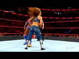 WWE.RAW.2018.02.26.Sasha Banks, Bayley and Asuka vs. Alexa Bliss, Mickie James and Nia Jax