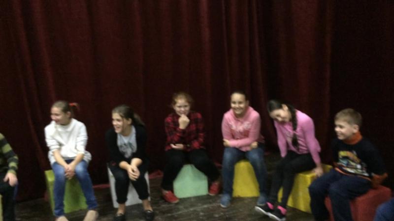 занятия по мастерству актера старшие 1 год 17-18