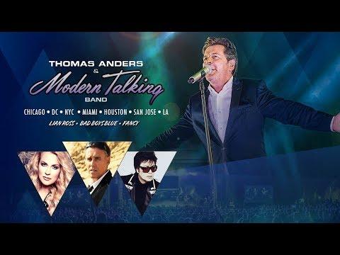 Thomas Anders Modern Talking USA 2018 Tour - Promo 2
