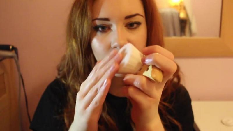 TheUKASMR ASMR massage roleplay close up whisper ~ With face hair brushing