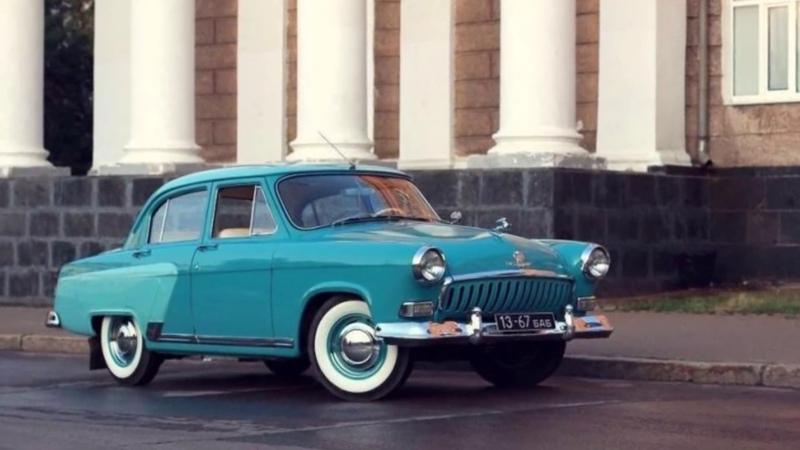 Волга 21 1962 г. выпуска до полной реставрации прошло пять лет.