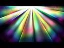 4K 2160p Rainbow Sun Rays Motion Background