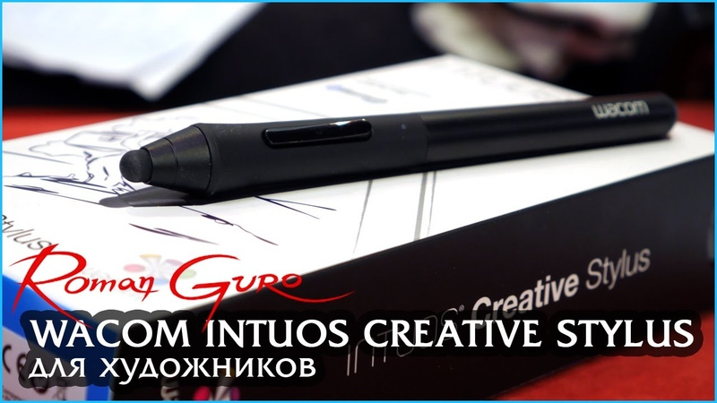 Roman Guro. Обзор Wacom Intuos Creative Stylus для Ipad Mini с Retina