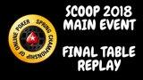 SCOOP 2018 $10,300 NLHE Main Event