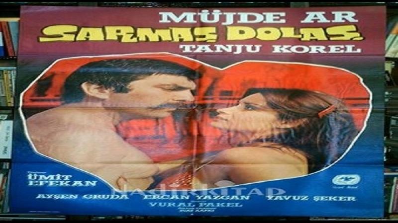 Sarmaş Dolaş - Ümit Efekan 1977 Müjde Ar - Tanju Korel, Sema Eyüpoglu