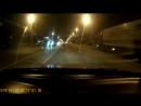 Воронеж. Водитель Яндекс такси чуть не сбил пешехода 10.01.2018
