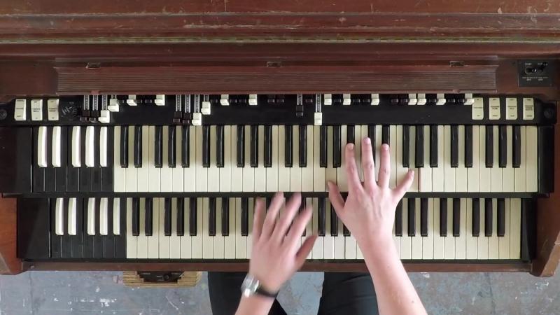 How Billy Preston punctuates vocal lines on Hammond Organ - insights from Joe Glossop