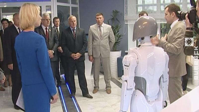 «Витебскоблгаз» принял в штат робота (22.06.2018)