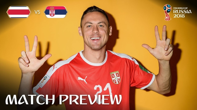 Nemanja Matic (Serbia) - Match 10 Preview - 2018 FIFA World Cup™