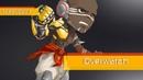 [Overwatch] Doomfist - speedpaint (commission) [Paitstorm studio]