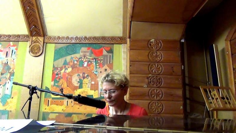 Лена СТАРКОВА - 2-я часть выступления на концерте в тверской библиотеке им. А.И. Герцена. 03.06.18
