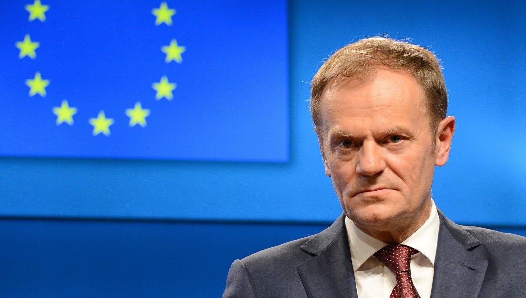 Туск рассказал о намерениях ЕС в отношении антироссийских санкций