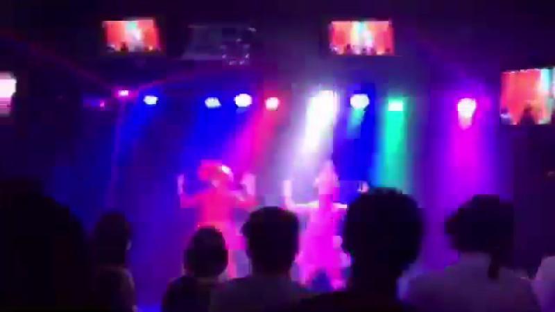 生誕祭でねこわかめちゃんとエビカニクス踊りました(ฅωฅ)♪←真顔で httpst.co_pSqBpQ0oOw ( SQ ).vddl