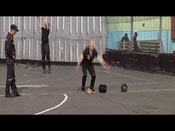 В ИК-5 прошел силовой турнир по кроссфиту среди осужденных