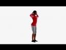 Упражнение Доброе утро Ягодицы, Мышцы задней поверхности бедра4