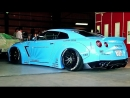 Modified Nissan GT R w Armytrix Exhaust Epic Sounds