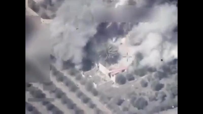 ВВС Ирака сложило дом с бармалеями в Сирии.