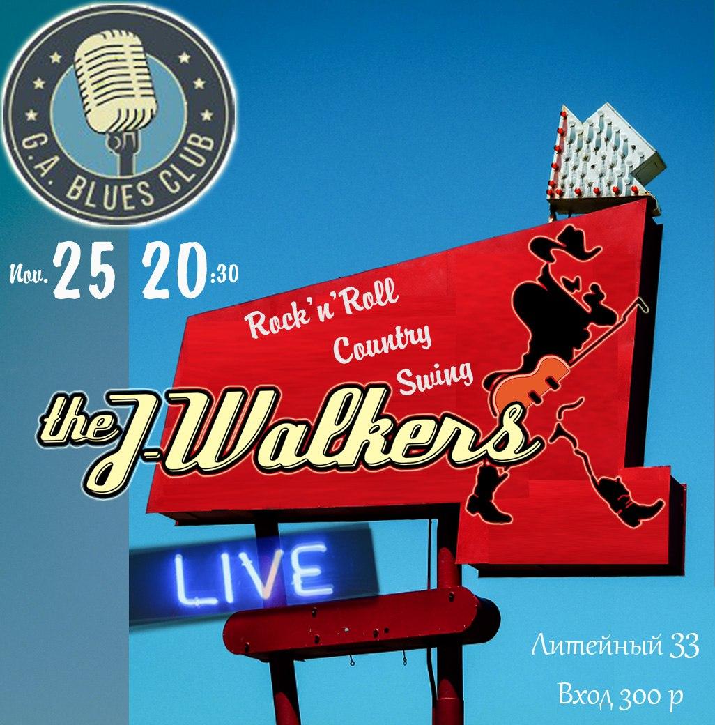 25.11 The J-Walkers в G.A.Blues Club