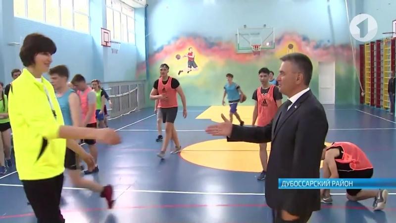 Президент Вадим Красносельский посетил Дубоссарский район