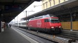 2016-02-07 Bellinzona, SBB Re 460 con InterCity