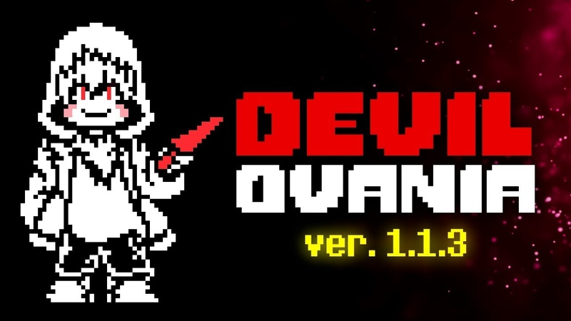 Update DEVILOVANIA ver. 1.1.3 - STORYSHIFT CHARA ENCOUNTER UNITALE