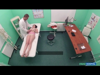 FakeHospital Cassie Fire Doctor fucks shaven Russian pussy New Porn 2018