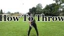 Goalkeeper Training How to Throw