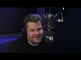 james corden faces embarrassing questions from harry styles, rita ora and jack whitehall.