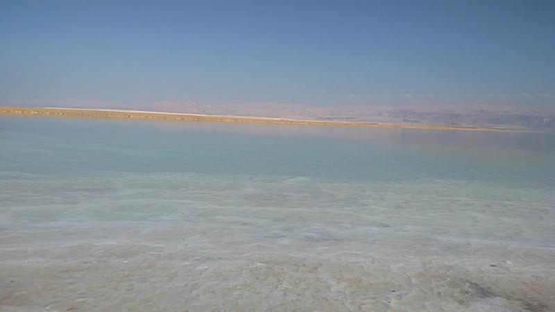 2017. Израиль. Мёртвое море. Эйн-Геди